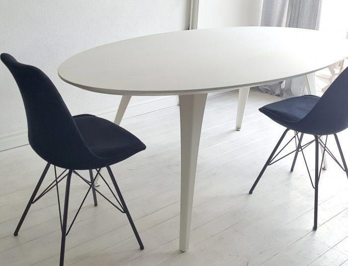 Ovale eettafel u2013 house proud styling & interieur